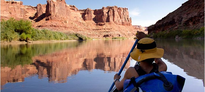Steamboat Mountain CO Boarding USA canoeing