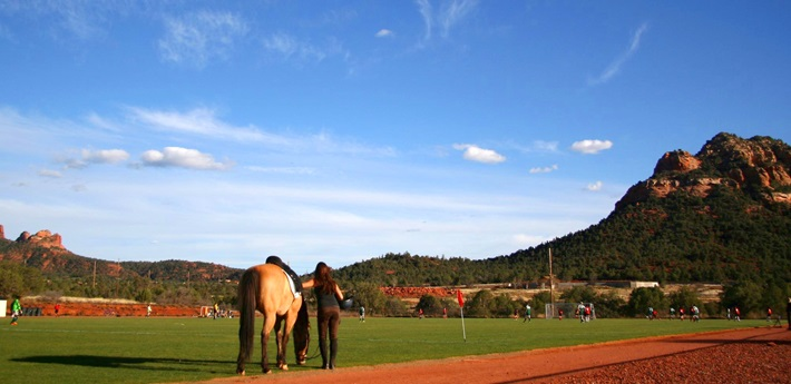 Verde Valley School Equestrian and Soccer