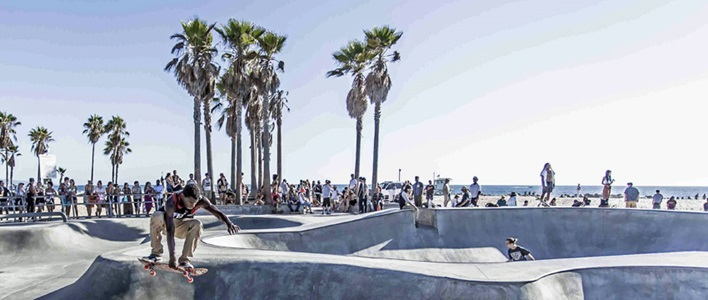 Venice beach skeater  stock unsplash web
