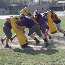Scottsburg High School Indiana Public High School USA Football Practice