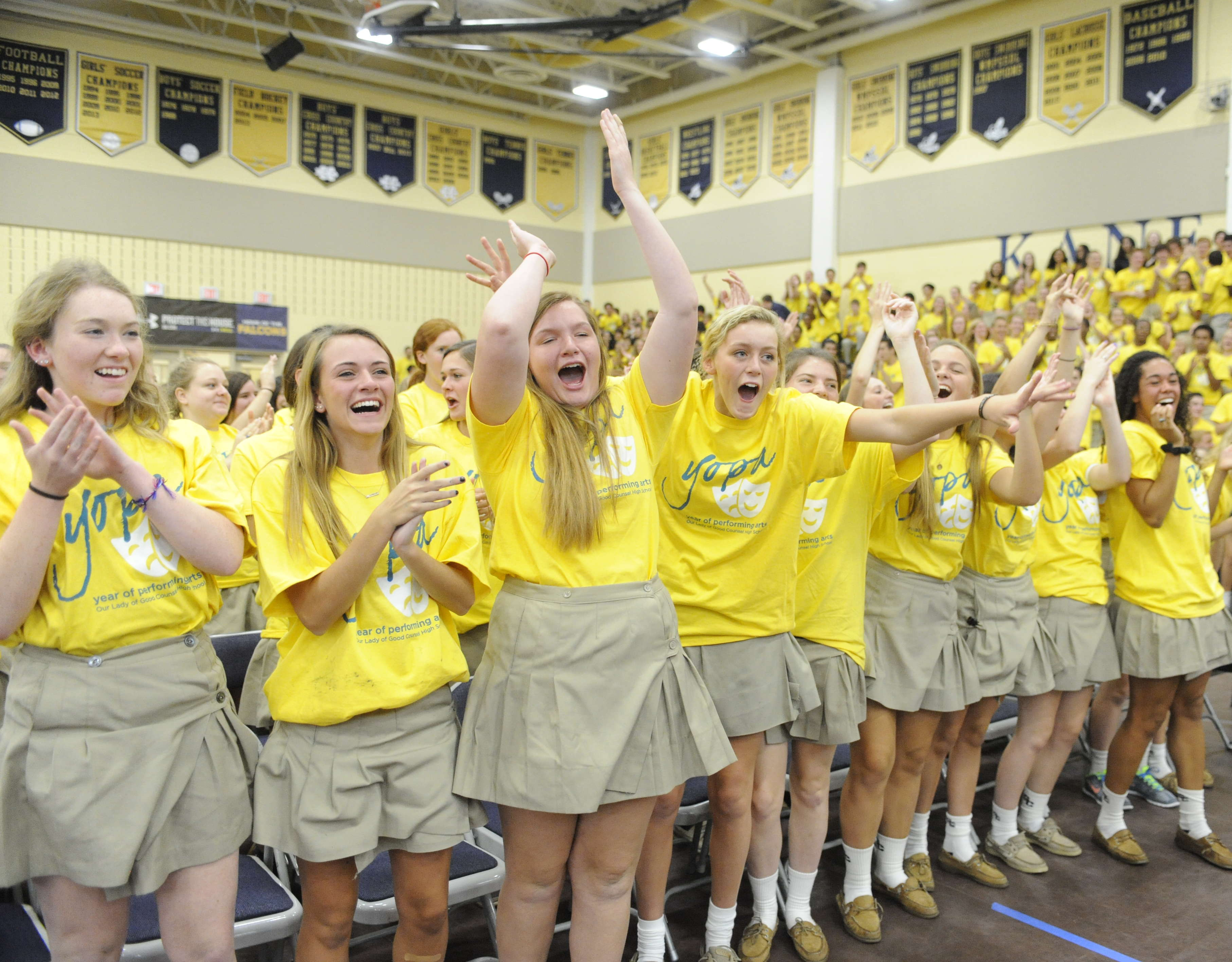 Our Lady of Good Counsel High School Rally
